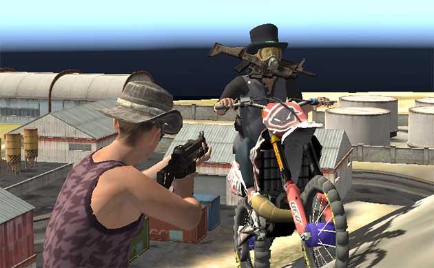 SCAR Online - a game like PUBG