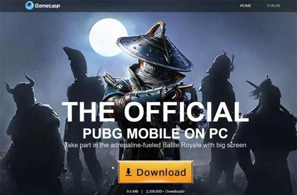 Gameloop - The official PUBG Mobile on PC