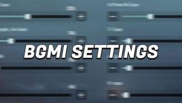 BGMI Gyroscope Controls